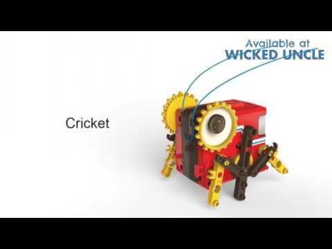 Youtube Video for 4 in 1 Robot Kit