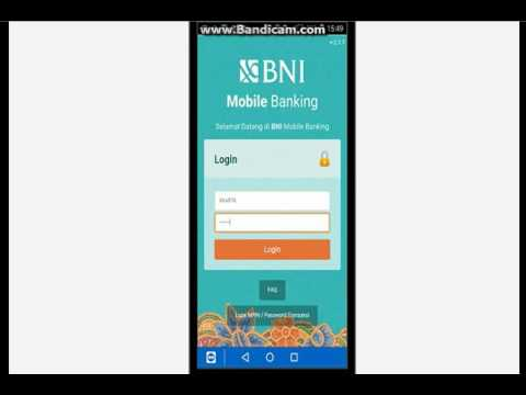 Cara Ganti Mpin Bni Mobile banking
