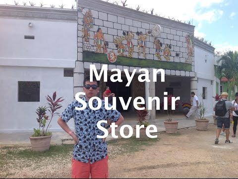 Video Mayan Souvenir Store (Vlog #12)