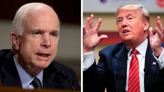 POLITICAL SHOWDOWN: McCain Criticizes Trump, Rand Paul Grateful McCain ISN