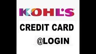 kohls credit card login complete guide of mykohlscharge