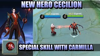 A NEW LATE GAME MONSTER? - CECILION NEW HERO IN MOBILE LEGENDS