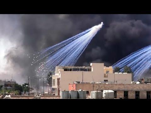 Битва за Мосул. Ирак сегодня. Белый фосфор?