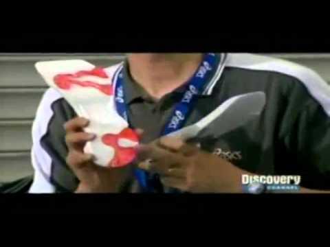 Cómo se fabrican las zapatillas deportivas (ASICS)