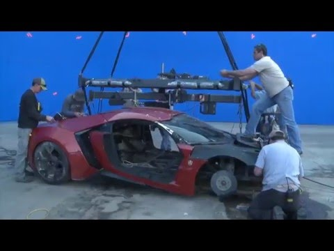 Behind the Scenes of Fast & Furious 7 VFX