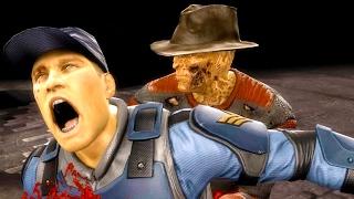 Mortal Kombat 9 - All Fatalities & X-Rays on Stryker Costume 2 4K Ultra HD Gameplay Mods