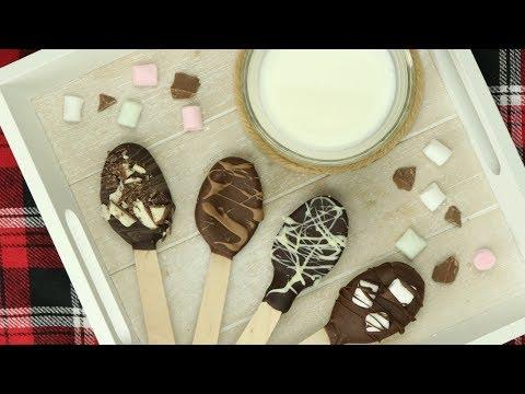 Heiße Schokolade am Stiel: Ein Rezept für Trinkschokolade
