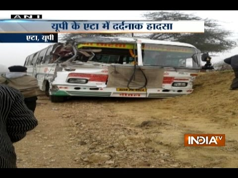 15 Children Feared Dead In School Bus And Truck Collision In UP's Etah