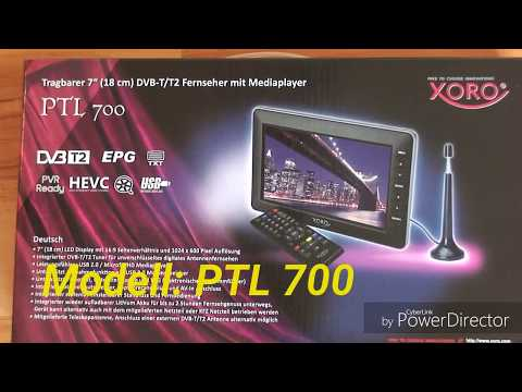 DVB-T2 Portable Mini Tv  | 18 cm Diagonale