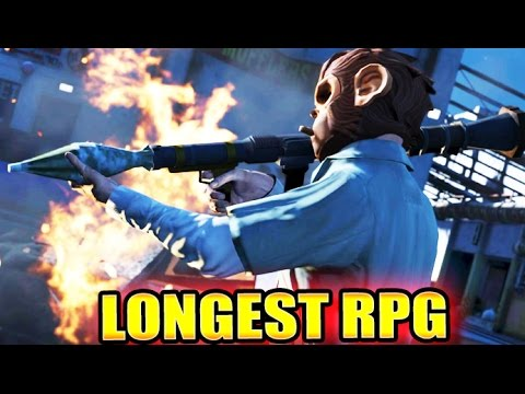 The Longest RPG Shot Ever In GTA Online