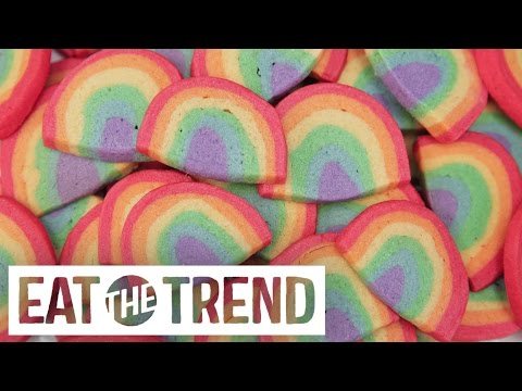 Rainbow Sugar Cookies | Eat the Trend