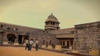 Exterior of Gujri Mahal