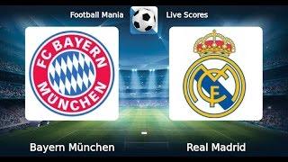 "Лига чемпионов УЕФА. 1/4 финала. ""Бавария  -  Реал Мадрид"" 12.04.2017"