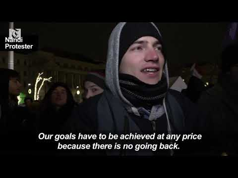 Protesters join anti-government march in Budapest