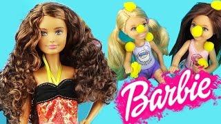 Куклы Барби 2016 BLACK Скиппер игрушки для девочек Мультик с Челси Barbie Fashionistas dolls toys