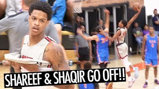 Shaqir O'Neal SHOCKS DREW LEAGUE CROWD! Shareef O'Neal PUTS ON A SHOW For FANS!