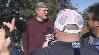 Dale Murphy Visits Georgia Southern
