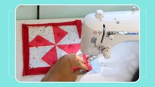 How To Bind & Hang A Mini Quilt Tutorial By Crafty Gemini