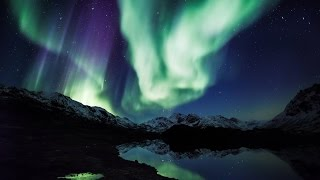 "Aurora Borealis in 4K UHD: ""Northern Lights Relaxation"" Alaska Real-Time Video 2 HOURS"