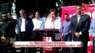 preview picture of video 'Reciben policías de Ixtapaluca patrullas nuevas'