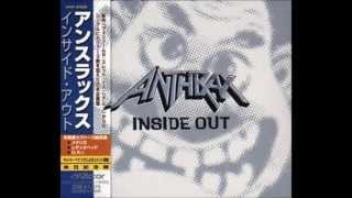 ANTHRAX - Inside Out  (RARE CD)