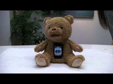 With A Smartphone Dock For A Heart, This Teddy Bear Will Terrorise Your Kids