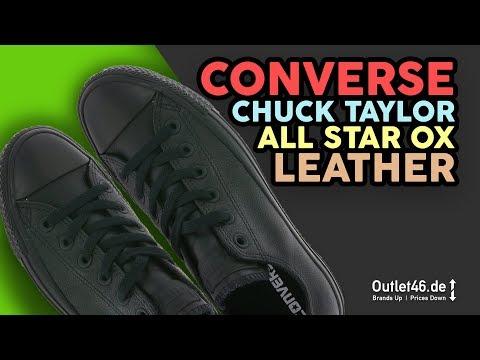 Chuck Tailor All Star OX - AUFFÄLLIG UNAUFFÄLLIG ?! DEUTSCH Review l On Feet l Unbxoing l Oulet46.de