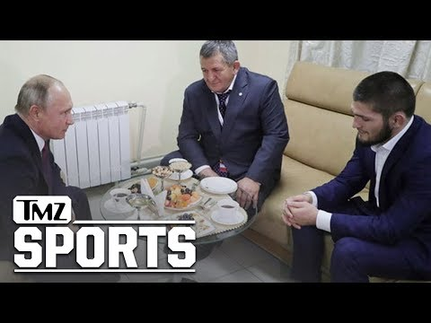 What We Know About Khabib's Meeting With Vladimir Putin | TMZ Sports