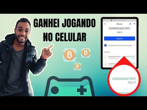 PAGOU na Coinbase | Ganhar Bitcoin Jogando no Celular | Bitcoin Grátis