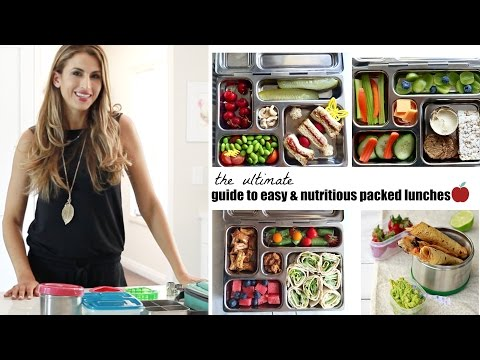 Video healthy lunchbox ideas for kids