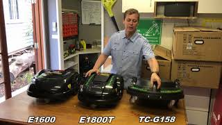 Robot Lawn Mowers Model Comparison