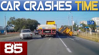 Car Crashes & Road Rage Compilation - August 2015 - episode #85 HD