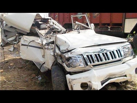 Latest Car Accident Of Mahindra Bolero In India - Road - Crash - Compilation - 2016 - 2017 - 2018