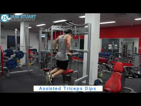 Assisted Triceps Dips