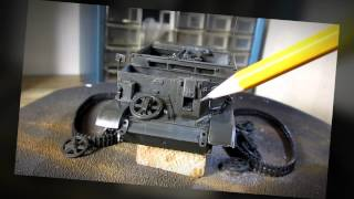 Building Tamiya British Universal Carrier. Complete From Start to Finish. 1/35 Scale