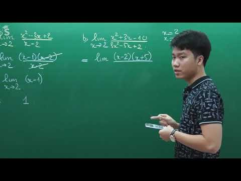 Bài:  Luyện tập giới hạn hàm số (Sưu tầm)