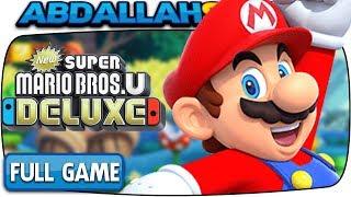 New Super Mario Bros U Deluxe - FULL GAME 100% Walkthrough (Nintendo Switch)