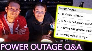 Painting My Nails in a Power Outage (answering the most Googled questions about me) - Video Youtube