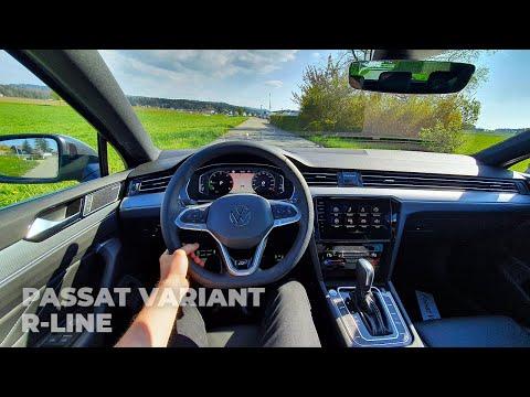 Volkswagen Passat Variant R-Line 2021 Test Drive Review POV