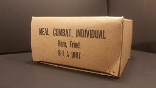 1966 Vietnam Meal Combat Individual MCI Fried Ham Vintage MRE Review War Food Taste Test