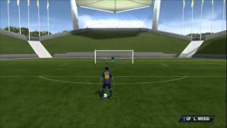 Fifa 13 - Контроль мяча и пас рабоной (Обучение)