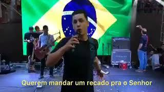 ESTUDANTES JUNTO COM O PRESIDENTE JAIR BOLSONARO