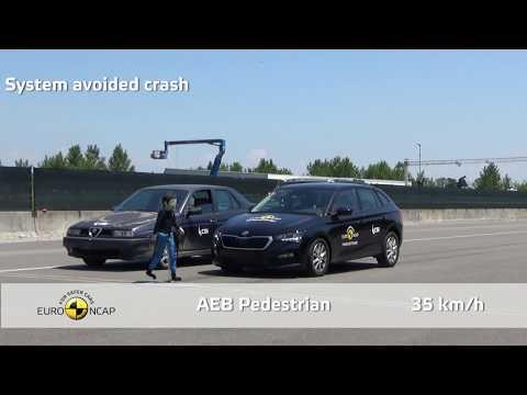 Cinque stelle Euro NCAP per ŠKODA SCALA