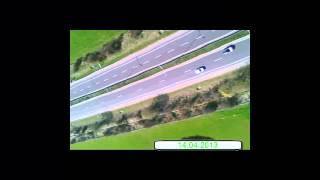 preview picture of video 'Erster Kamera Test onBoard (RC Plane) AeroClub Dudelange'