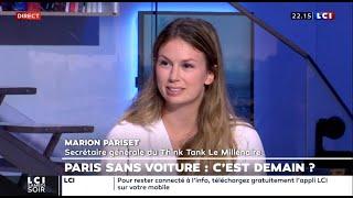 Marion Pariset - LCI - 3 Octobre 2020