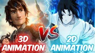 2D Vs 3D Animation Difficulty