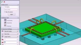3D EM Field Simulation Software HFWorks: Creating an S-Parameter Study