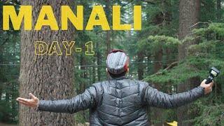First Vlog    Manali Vlog (Part-1)    Day-1 In Manali    My First Experience In Manali