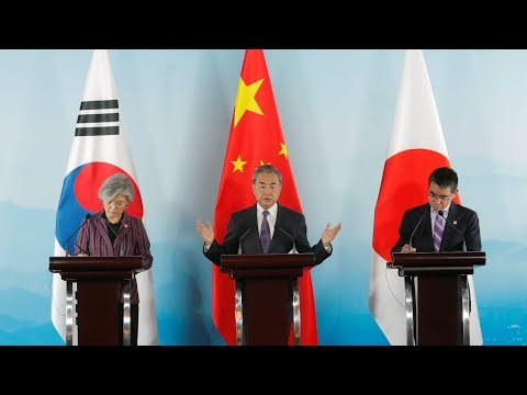 China, Japan and S. Korea announce cooperation framework