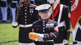 "Medal of Honor Flag Presentation for Cpl. William ""Kyle"" Carpenter"